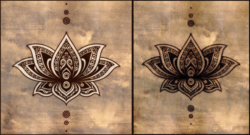 mandala-lotos