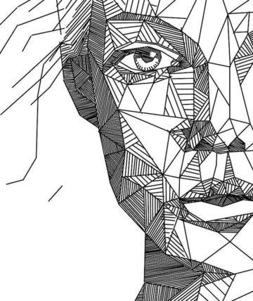 drawing-portrait-line
