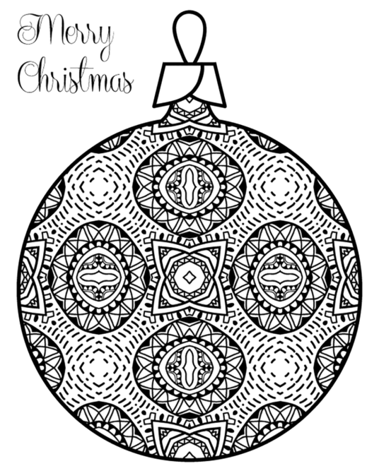 Coloring-Page-Christmas-Ornament-4