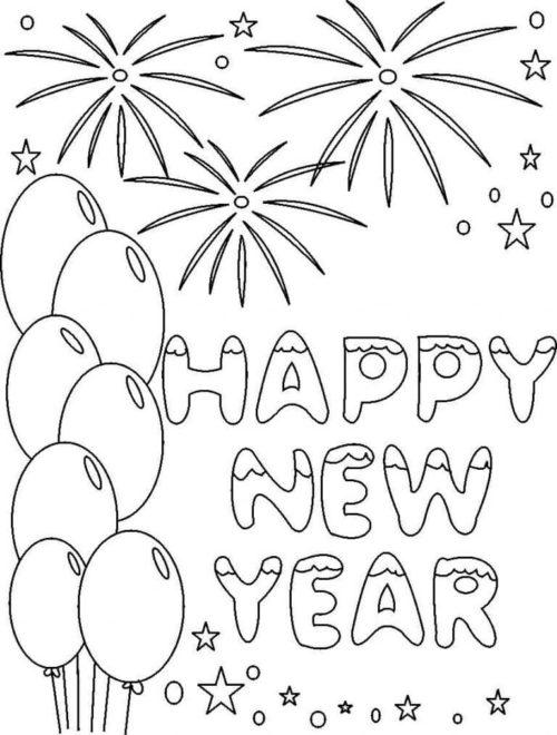 Happy-New-Year-2018-Coloring-Page