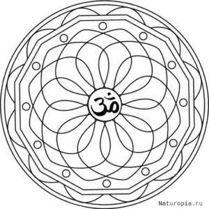 ellipse-mandala-with-om-symbol-coloring-page