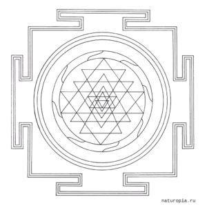 tibetan-sri-yantra-mandala-coloring-pages