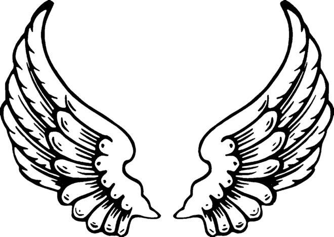 Angel-Wings-Coloring-Pages