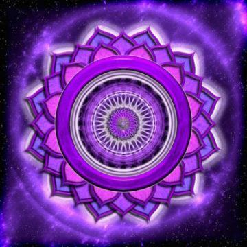 фиолетовый цвет седьмой чакры