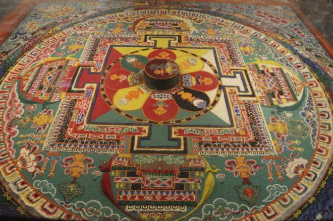 Mandala-tibetskaya