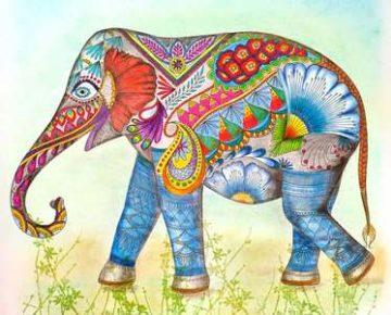 antistress-raskraski-slon-