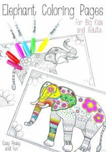 coloring-pages-of-elephant