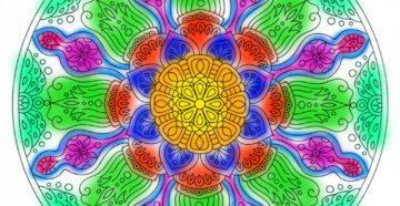 mandala-duhovnost- cvet