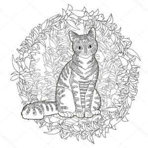 raskraski-koshki-koty-antistres-raspechatat-cat-6