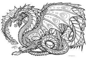antistress-raskraska-drakon-raspechatat-zentangle-coloring-page-dragon-31