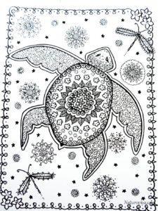 zentangle-raskraski-cherepakhi-raspechatat-5