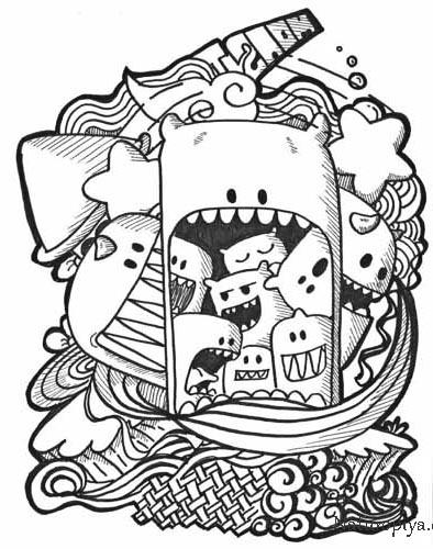 Dudling-monstriki-interesnye-kartinki-14