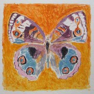 Монотипия бабочка - уникальная техника рисования для детей