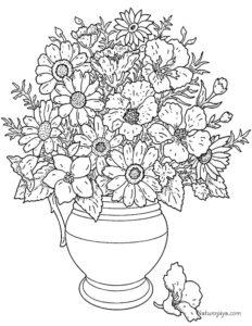 buket-cvetov-v-kuvshine