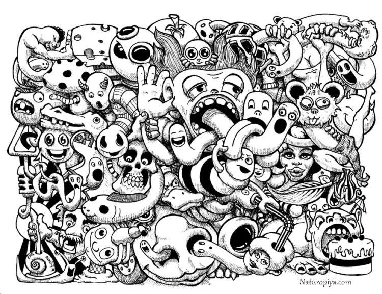 doodle-art-teraoiya-monstriki