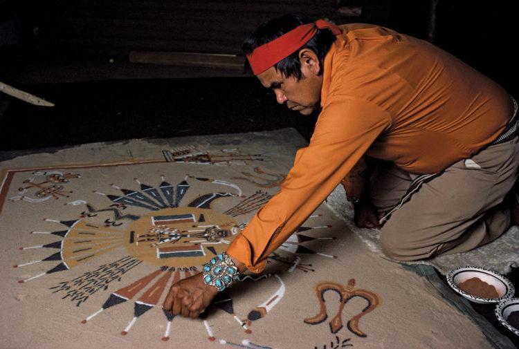 Navajo-Sand-mandalas