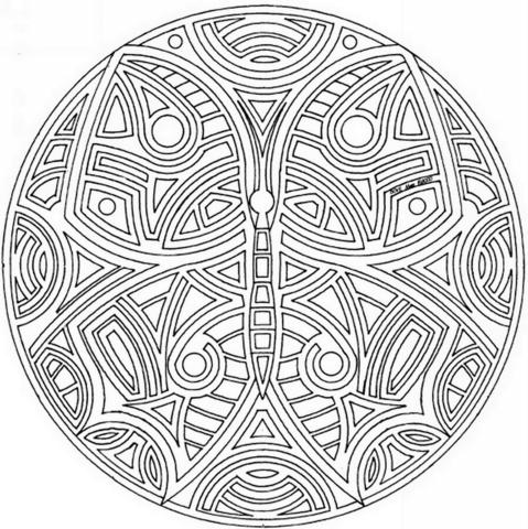 Бабочка Мандала ваш проводник в исцелении и трансформации