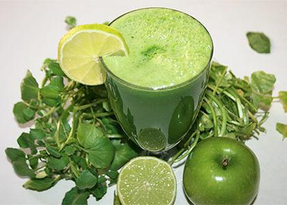 watercress-juice-green